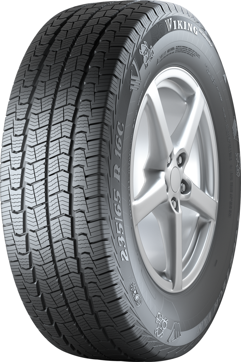 Gomme Nuove Viking Norway 225/70 R15C 112/110R FOURTECH VAN M+S pneumatici nuovi All Season